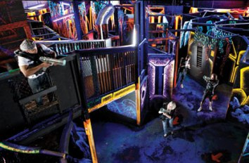 Laser Quest in Mountain View California