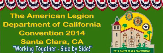 Santa Clara Convention Center 2014 American Legion Department of California